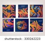 vector ink texture watercolor... | Shutterstock .eps vector #330262223