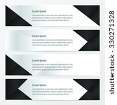 banner polygons design  black... | Shutterstock .eps vector #330271328