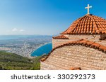 The monastery of St. Patapios in a summer day in Greece