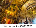Interior Of Monastery In A...