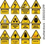 sign  warning  sticker | Shutterstock .eps vector #330310199