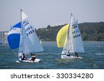 Small photo of IPSWICH, ENGLAND - JUN 10, 2006: Lark sailing race of Royal Harwich Yacht Club on River Orwell, Suffolk, England, UK