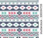 ethnic seamless pattern. tribal ... | Shutterstock .eps vector #330334733