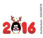 2016 penguin | Shutterstock .eps vector #330338978