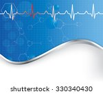 abstract medical background . | Shutterstock . vector #330340430