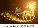 Christmas Card With Silhouette...