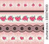 set of vintage borders. could... | Shutterstock .eps vector #330374030