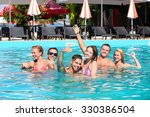 young people having fun in the... | Shutterstock . vector #330386504