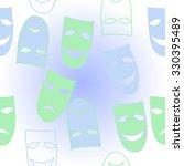 seamless pattern of mummers....   Shutterstock .eps vector #330395489