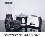 kitchen appliances on a neutral ... | Shutterstock . vector #330397094