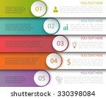 modern minimalistic multicolor...   Shutterstock .eps vector #330398084
