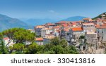 ancient town cityscape with... | Shutterstock . vector #330413816