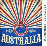 Australia Vintage Patriotic...