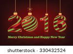 happy new year 2016  background ... | Shutterstock .eps vector #330432524
