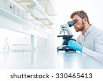 young scientist investigating...   Shutterstock . vector #330465413