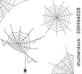 Silhouette Spiderweb On...