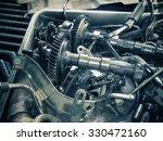 old engine | Shutterstock . vector #330472160