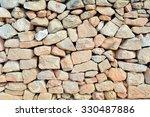 Beige Rocks Wall.