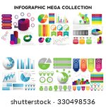 infographic mega collection....   Shutterstock .eps vector #330498536