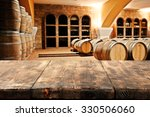 blurred background of barrels  | Shutterstock . vector #330506060