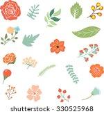 flower clip art | Shutterstock .eps vector #330525968