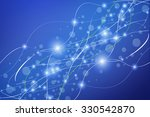 abstract blue background  | Shutterstock . vector #330542870