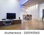 interior of a luxury living room | Shutterstock . vector #330545063