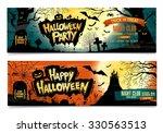 happy halloween. halloween...   Shutterstock .eps vector #330563513