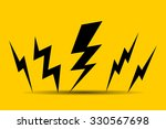 lighting bolt  | Shutterstock .eps vector #330567698