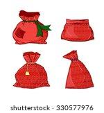 Canvas Sack Vector. Canvas Bag...