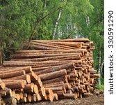 Timber Harvesting For Lumber...