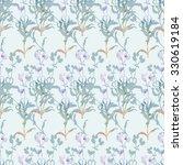 floral seamless pattern | Shutterstock . vector #330619184