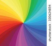 Bright Rainbow Swirl Backgroun...