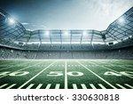 light of american stadium | Shutterstock . vector #330630818