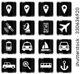 navigation simply vector icon... | Shutterstock .eps vector #330636920