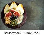 healthy breakfast porridge of... | Shutterstock . vector #330646928