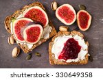home made irish wheaten bread... | Shutterstock . vector #330649358