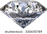 large clear diamond | Shutterstock . vector #330650789