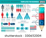 collection of infographic... | Shutterstock .eps vector #330652004