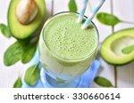 avocado and spinach green... | Shutterstock . vector #330660614