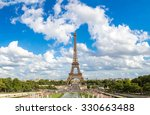 Panoramic View Of Eiffel Tower...