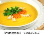 potato cream soup | Shutterstock . vector #330680513
