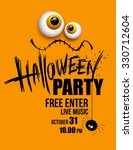 halloween party. happy holiday. ... | Shutterstock . vector #330712604
