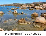 granite coast of northern... | Shutterstock . vector #330718310