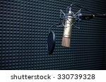 studio recording microphone... | Shutterstock . vector #330739328