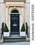 view of a front door of a...   Shutterstock . vector #330753320