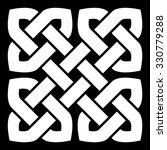 celtic knot vector illustration ...   Shutterstock .eps vector #330779288