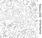hand drawn vector pattern on... | Shutterstock .eps vector #330779996