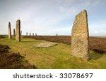 ring of brodgar | Shutterstock . vector #33078697