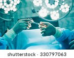 close up of gloved hands... | Shutterstock . vector #330797063